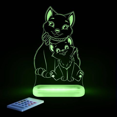 ALOKA SLEEPY LIGHTS - Kinder-Schlummerlampe-ALOKA SLEEPY LIGHTS-CHAT