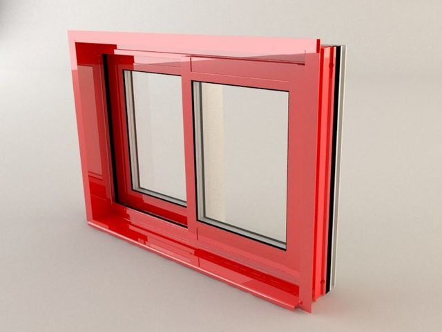 KAWNEER - Schiebefenster-KAWNEER