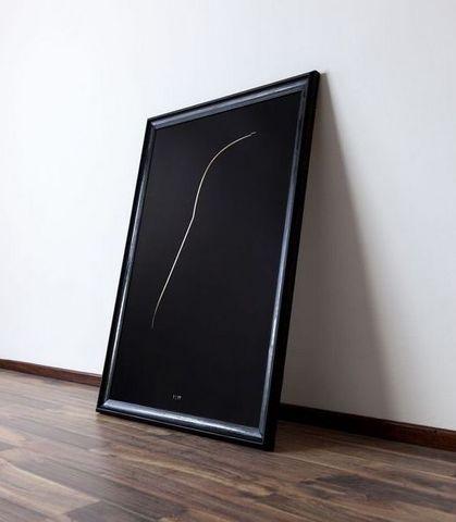 THE THIN GOLD LINE - Zeitgenössische Gemälde-THE THIN GOLD LINE-The Dark Side