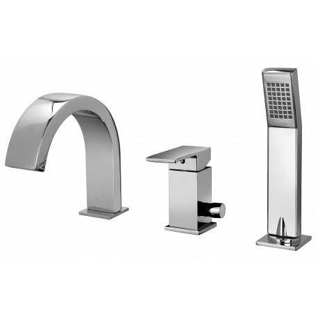 PAFFONI - Andere Sonstiges Badezimmer-PAFFONI-Elle - Mitigeur de bain installation 3 trous (EL040CR)