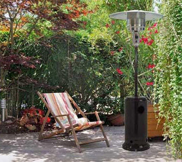 QLIMA - Sonnenschirme mit integrierter Heizung-QLIMA-PGU2013 Black (gaz)