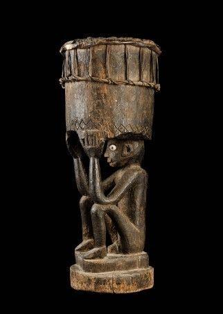 Coppens Tribal Art - Trommel-Coppens Tribal Art-tambour, Leti