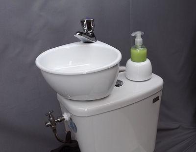ATELIER CREATION JF - Waschtisch montierbar auf WC-ATELIER CREATION JF-WiCi Mini