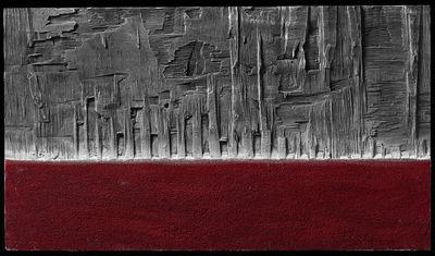 DEZIN-IN - Zeitgenössische Gemälde-DEZIN-IN-ROSSO MATERICO