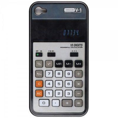 La Chaise Longue - Mobiltelefonhülle-La Chaise Longue-Etui iphone 4 Calculatrice