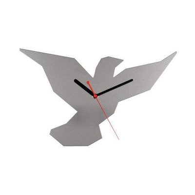La Chaise Longue - Pendelwanduhr-La Chaise Longue-Horloge murale oiseau miroir