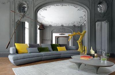 ROCHE BOBOIS - Sofa 3-Sitzer-ROCHE BOBOIS-PRESENCE