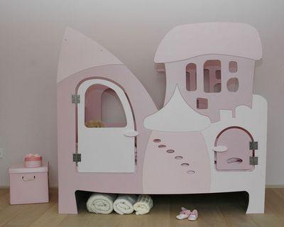 Bed'is - Hütte Bett für Kinder-Bed'is-140 x 70 cm hauteur 140cm