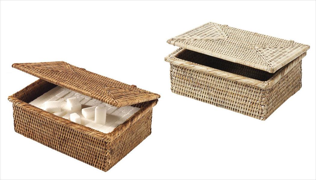 ROTIN ET OSIER Caja de azúcar Recipientes y contenedores de conservas (tarros-botes-frascos) Cocina Accesorios  |