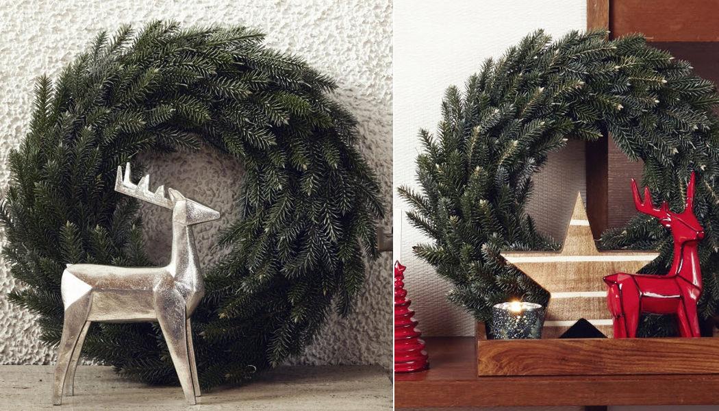 SIA Corona de Navidad Decoración y motivos navideños Navidad y Fiestas  |