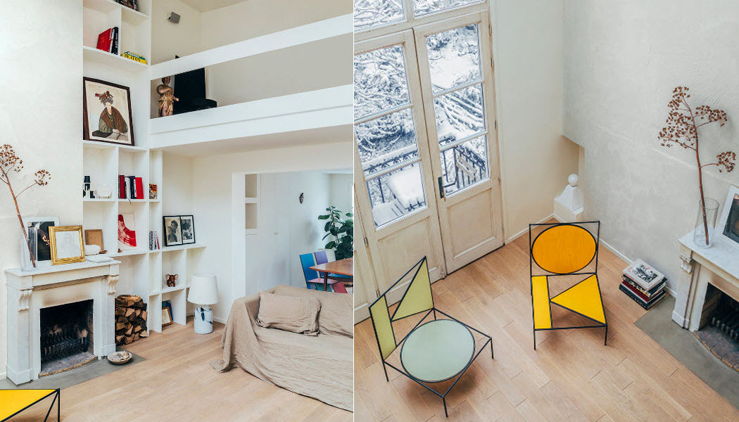 MARION MAILAENDER Realización de arquitecto Realizaciones de arquitecto de interiores Casas isoladas  |