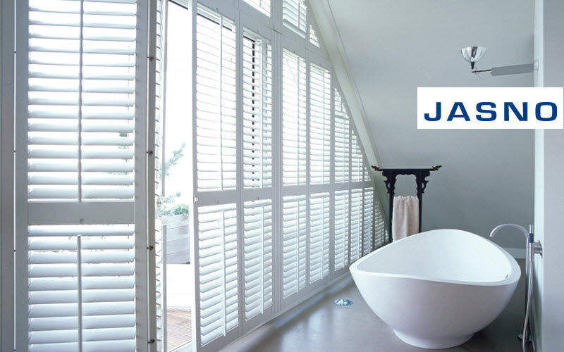 Jasno Shutters Estor veneciano Estores & celosías Tejidos Cortinas Pasamanería Baño | Design Contemporáneo