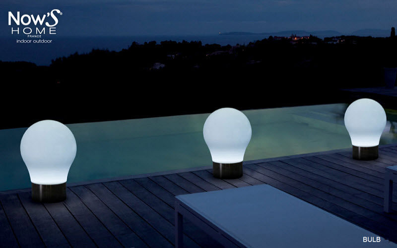 Now's Home Lampara de jardin LED Alumbrado de suelo Iluminación Exterior   