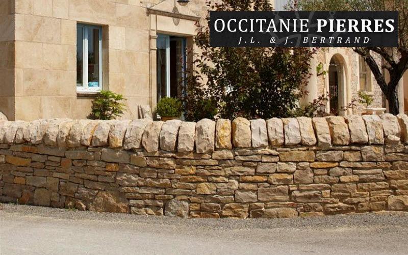 Occitanie Pierres Coronamiento de muro Vallas, cercados & setos divisorios Jardín Cobertizos Verjas...  |
