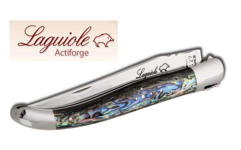 Laguiole Actiforge Cuchillo plegable Cuchillos Cubertería   