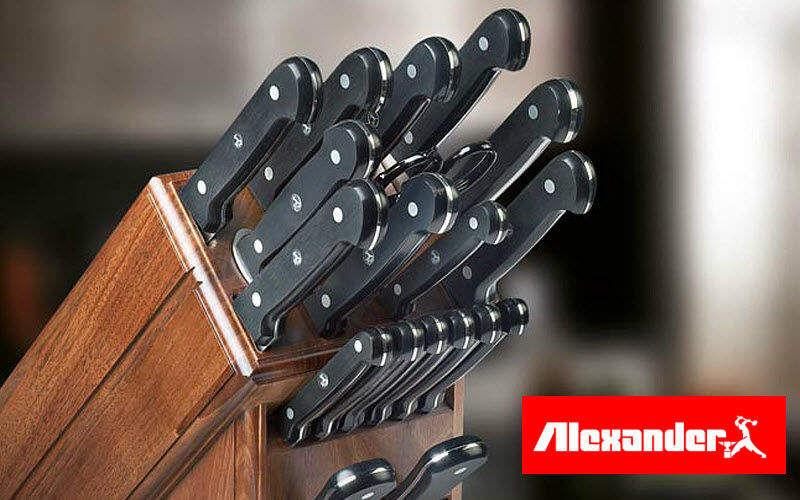 Alexander Bloque de cuchillos Artículos para cortar y pelar Cocina Accesorios  |