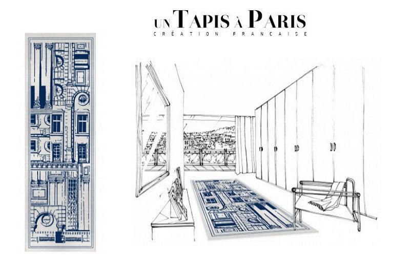 Un Tapis à Paris Alfombra de pasillo Alfombra de entrada Alfombras Tapices  |