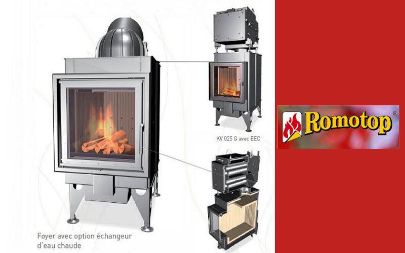 ROMOTOP Estufa de madera Estufas e instalaciones de calefacción Chimenea  |