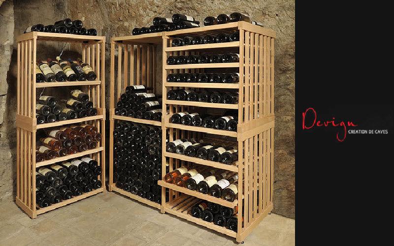 DEVIGN Casillero de vino Bodega Equipo para la casa  |