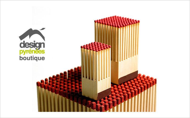 Design Pyrenees Editions Caja de cerillas Accesorios de chimenea Chimenea  |