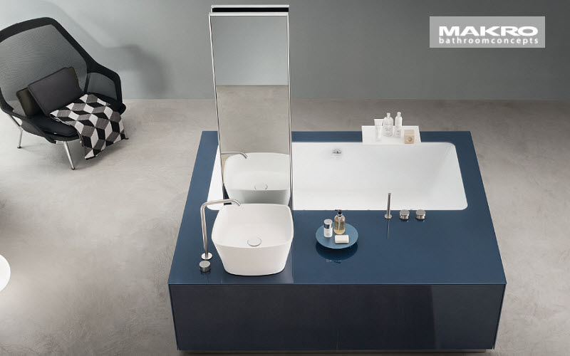 Makro Cuarto de baño compacto Baño completo Baño Sanitarios Baño | Design Contemporáneo