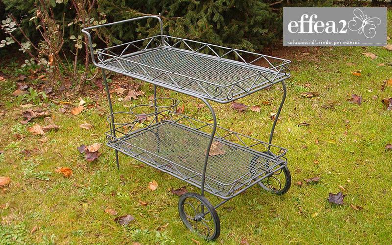 Effea Mesa con ruedas para jardín Mesas de jardín Jardín Mobiliario  |
