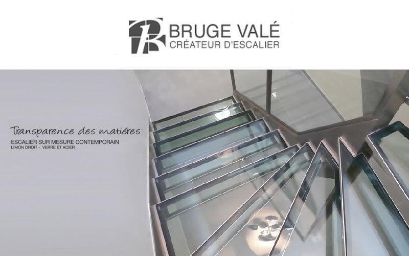 BRUGE VALE Escalera dos cuartos de giro Escaleras/escalas Equipo para la casa  |