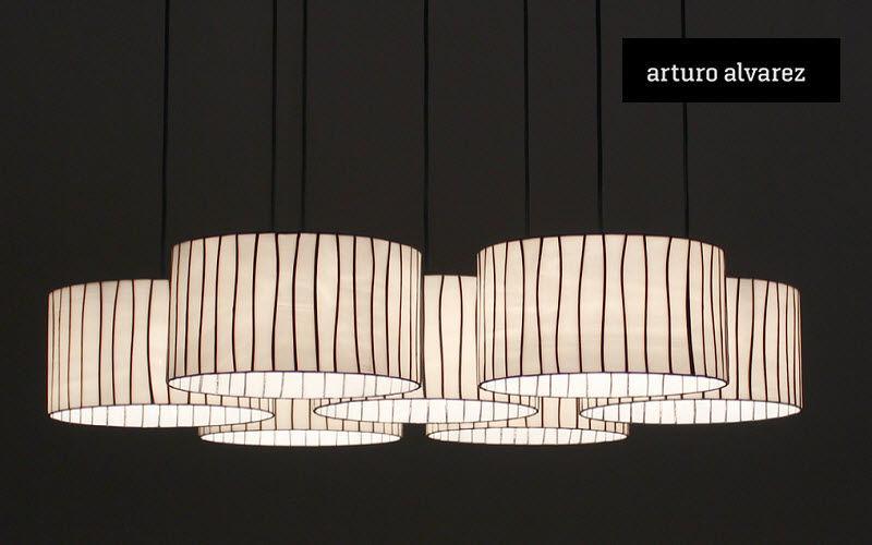 arturo alvarez Suspensión múltiple Luminarias suspendidas Iluminación Interior  |