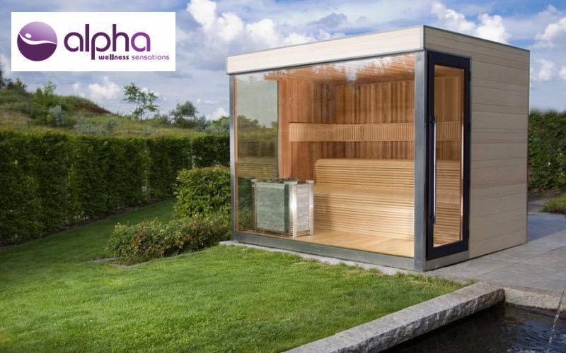 ALPHA WELLLNESS SENSATIONS Sauna al aire libre Sauna & hammam Baño Sanitarios  |