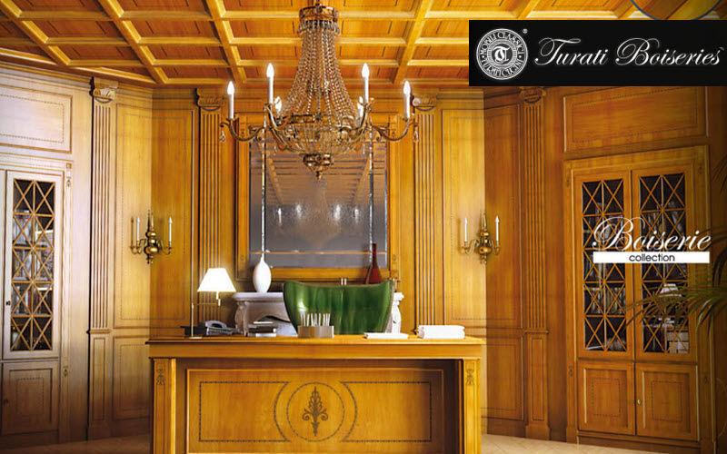 Turati Boiseries - Turati Cugini Carpintería Revestimientos, artesonados y chapados Paredes & Techos  |