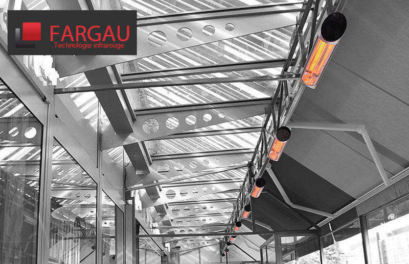 Fargau Infrarouge Caleffación eléctrica para terraza Calefacción de exterior Jardín Diverso  |