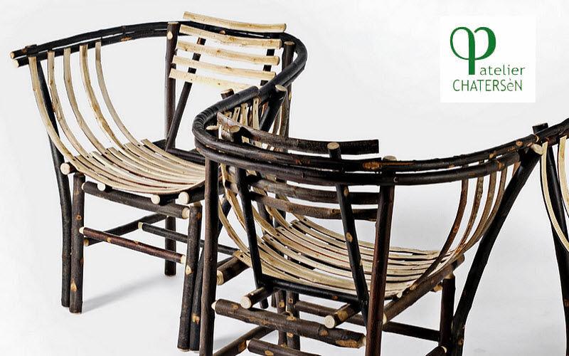 Atelier CHATERSèN Sillón de jardín Sillones de exterior Jardín Mobiliario  | Rústico