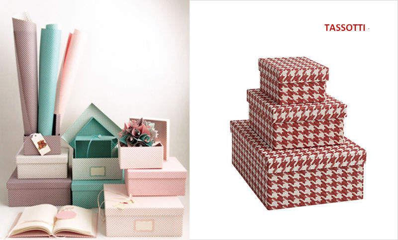 Tassotti Caja Cajas guardarropa Vestidor y Accesorios   