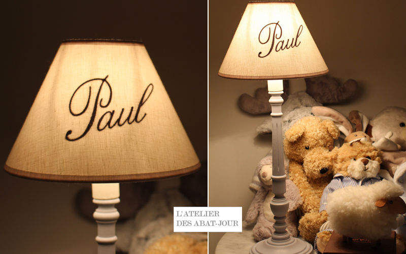 L'ATELIER DES ABAT-JOUR Pantalla de lámpara para niño Pantallas de lamparas Iluminación Interior  |