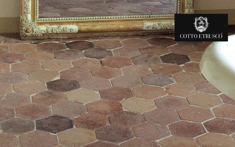 COTTO ETRUSCO Suelo de terracota antigua Baldosas para suelo Suelos  |