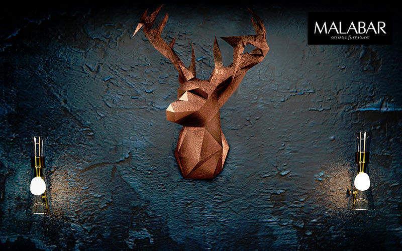 MALABAR Trofeo de caza Taxidermia y trofeos de caza Ornamentos  |