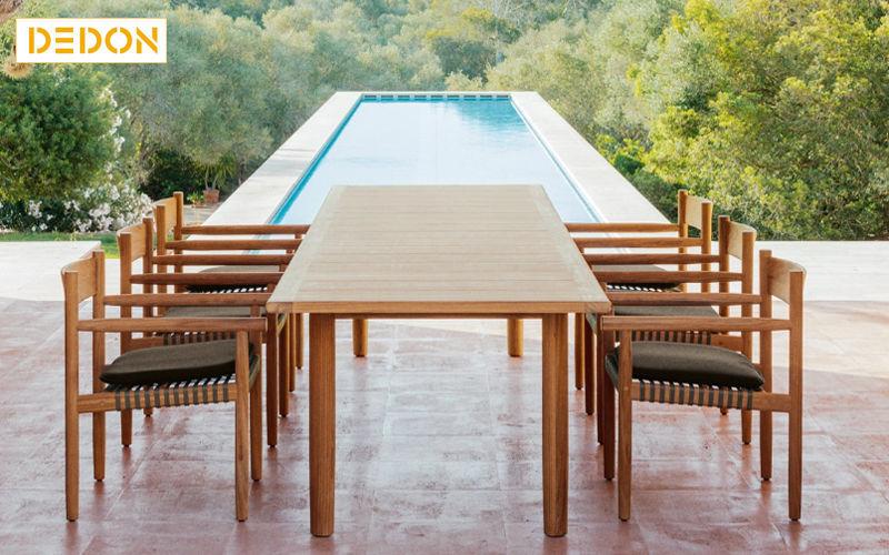 Dedon Mesa de jardín Mesas de jardín Jardín Mobiliario  |
