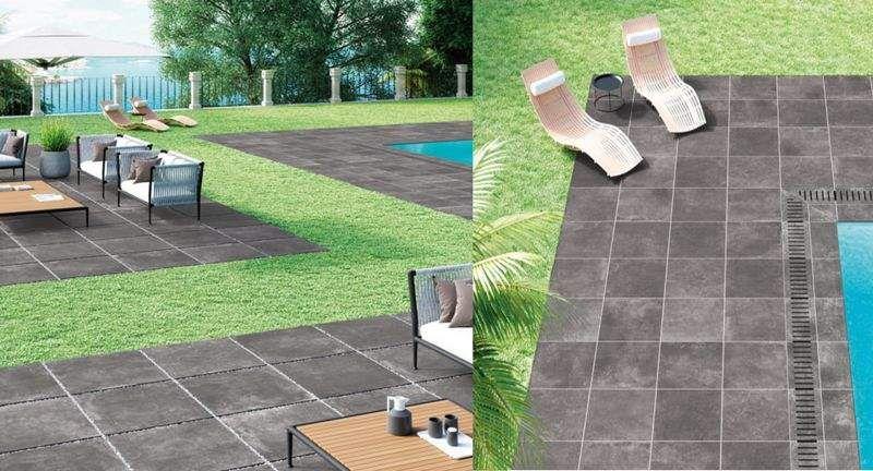 LA FABBRICA Playa de piscina Brocales & plataformas Piscina y Spa  |