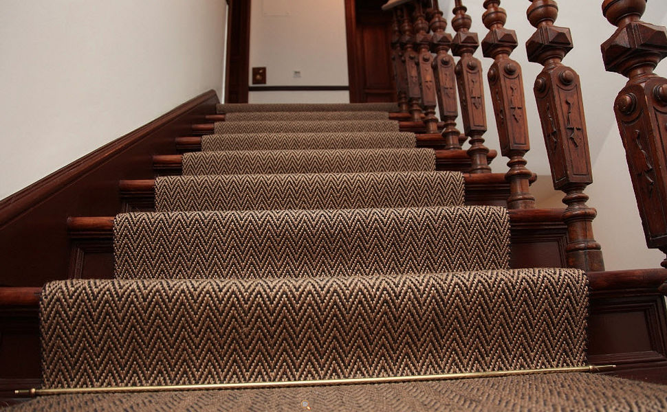 MELLAU Alfombra de escalera Alfombra de entrada Alfombras Tapices  |