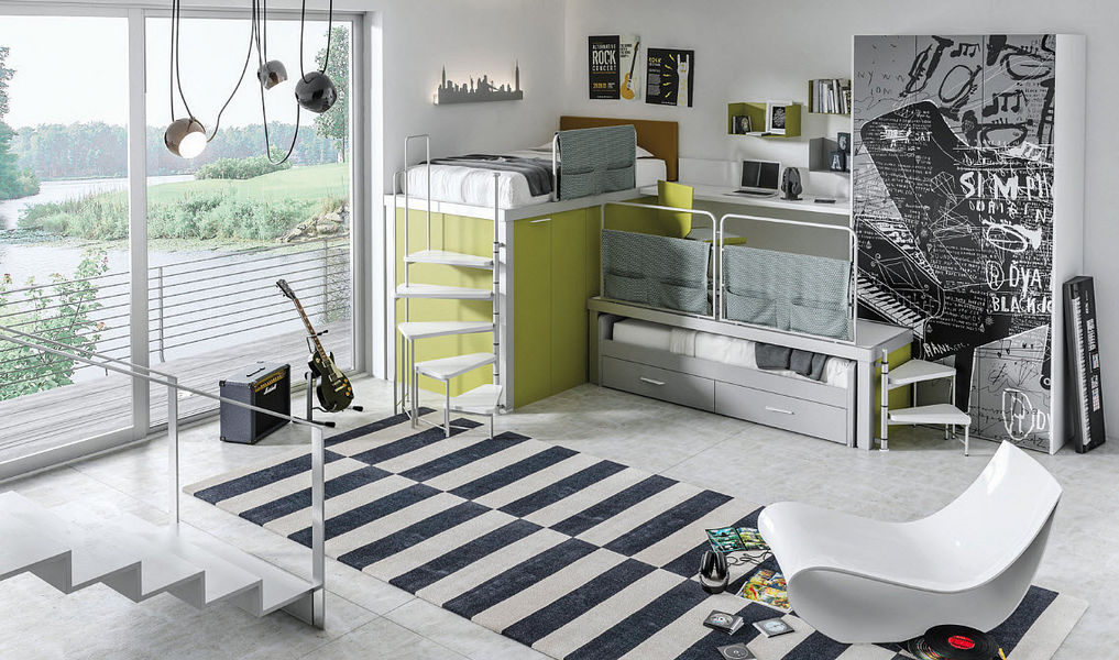 Tumidei Habitación juvenil 11-14 años Dormitorio infantil El mundo del niño  |