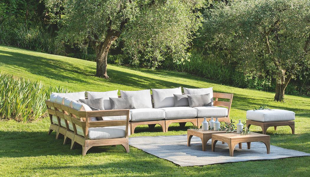 ETHIMO Sofá para jardín Salones completos de jardín Jardín Mobiliario  |