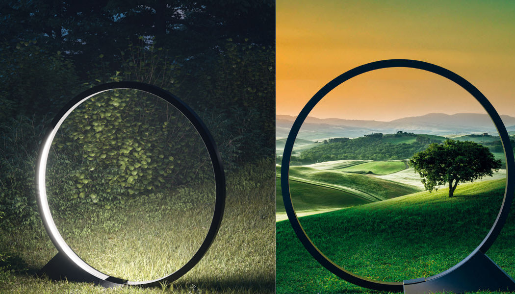 ARTEMIDE Lampara de jardin LED Alumbrado de suelo Iluminación Exterior Jardín-Piscina | Design Contemporáneo