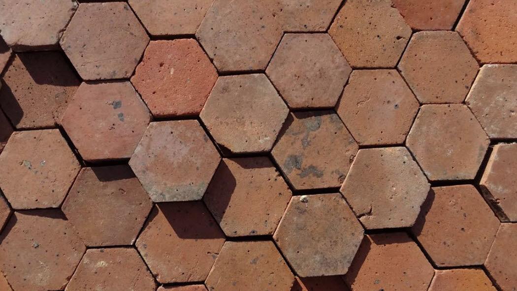 Authentic Suelo de terracota antigua Baldosas para suelo Suelos  |