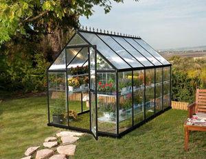 Chalet & Jardin - serre victorienne polycarbonate et alu 5,73m² - Invernadero