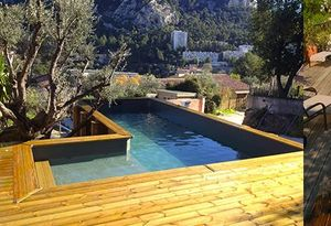 BLUEWOOD - sur mesure - Piscina Paisajista