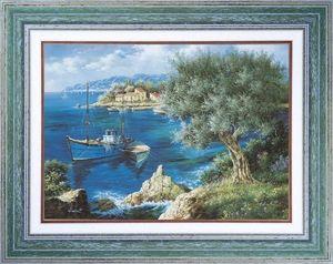 Atelier Artus - Tableaux Provence - olivier méditerranéen - Marina