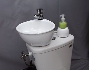 ATELIER CREATION JF - wici mini - Lavabo Adaptable Para Wc
