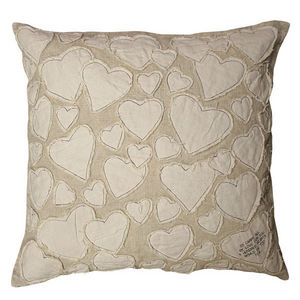 Sugarboo Designs - pillow collection - to carry all my love - white - Cojín Cuadrado