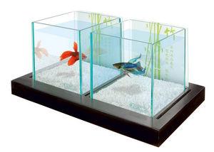 ZOLUX - aquarium déco betta bamboo 34.5x16x19.5cm - Acuario