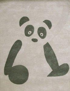 ART FOR KIDS - panda - Alfombra Para Niño
